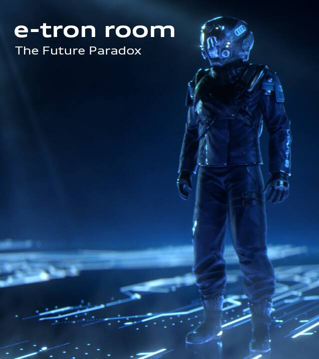 the e-tron room