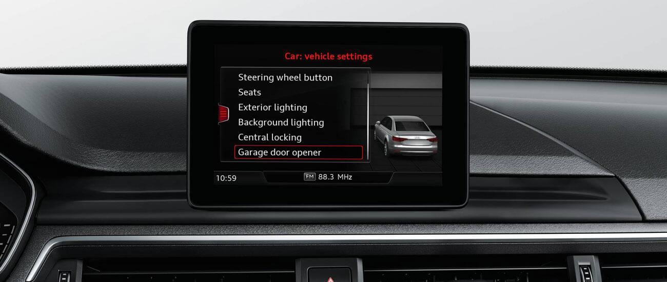 Homelink Tecnología Audi España - Audi homelink