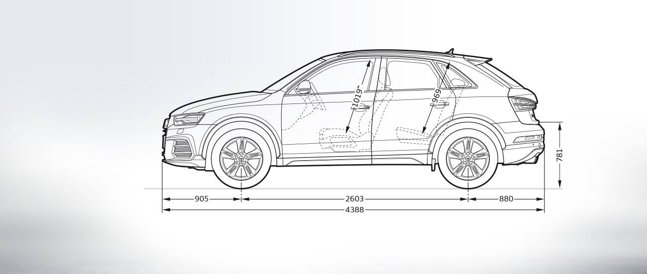 Dimensiones Del Audi Q3 Gt Audi Q3 Gt Q3 Gt Audi Espa 241 A