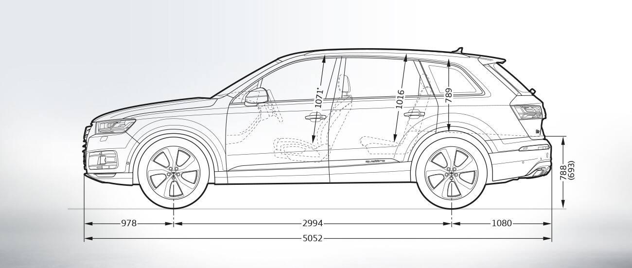 Dimensiones Gt Audi Q7 Gt Q7 Gt Audi Espa 241 A