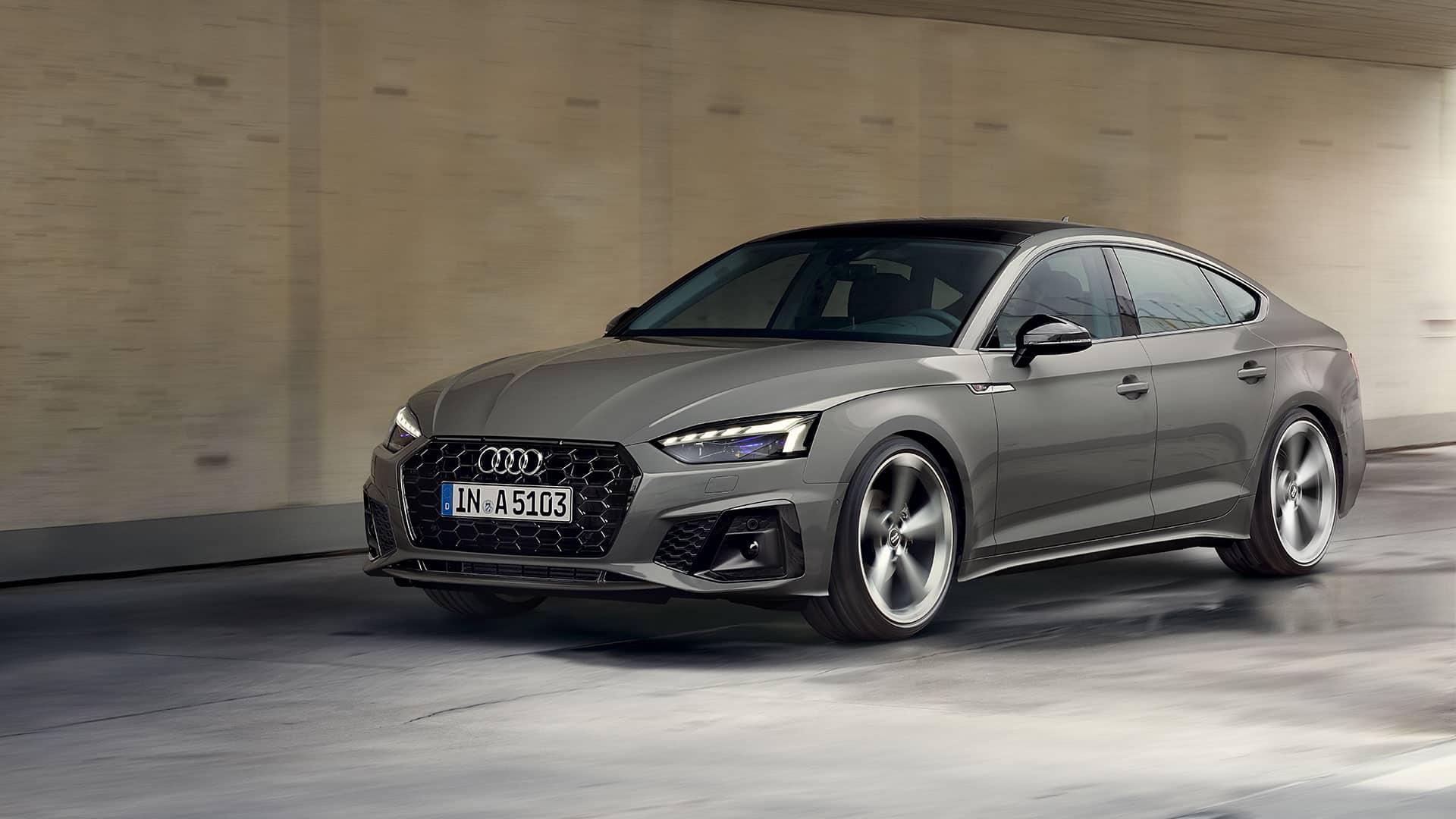 Audi A5 Sportback. Deportivo y versátil.